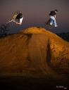Flair+Down Whip - Wayne & Jay - ©Eric Palmer