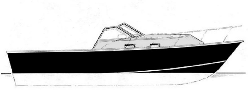 Our Boat - Cuddy Sport designed by Ken Hankinson (plans available through Glen-L)