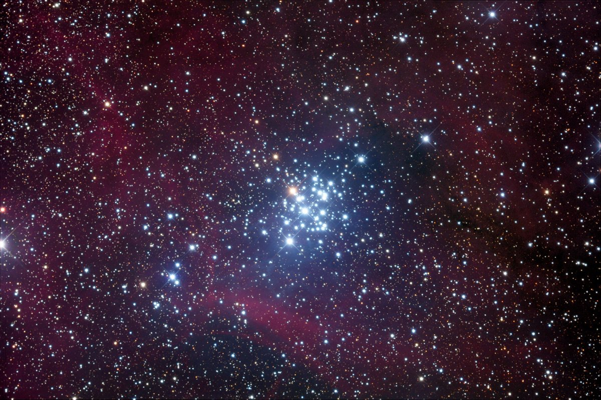 "Star Clusters in ""Orion Constelation"""