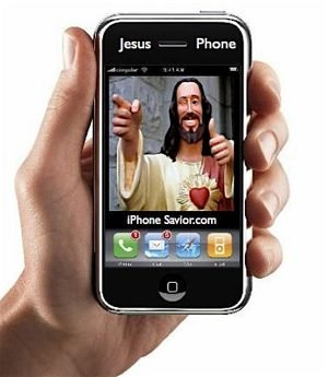 Jesus Iphone