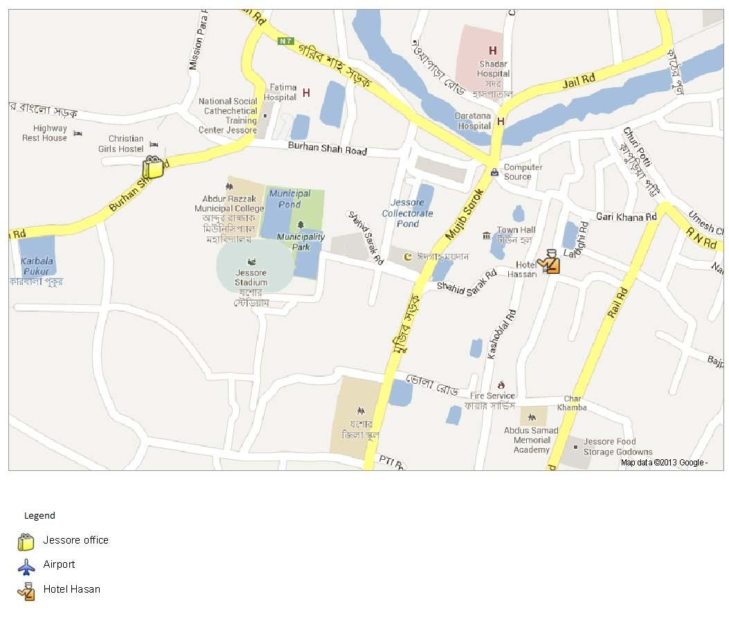Location map of JADE Jessore office and hotel (1).jpg
