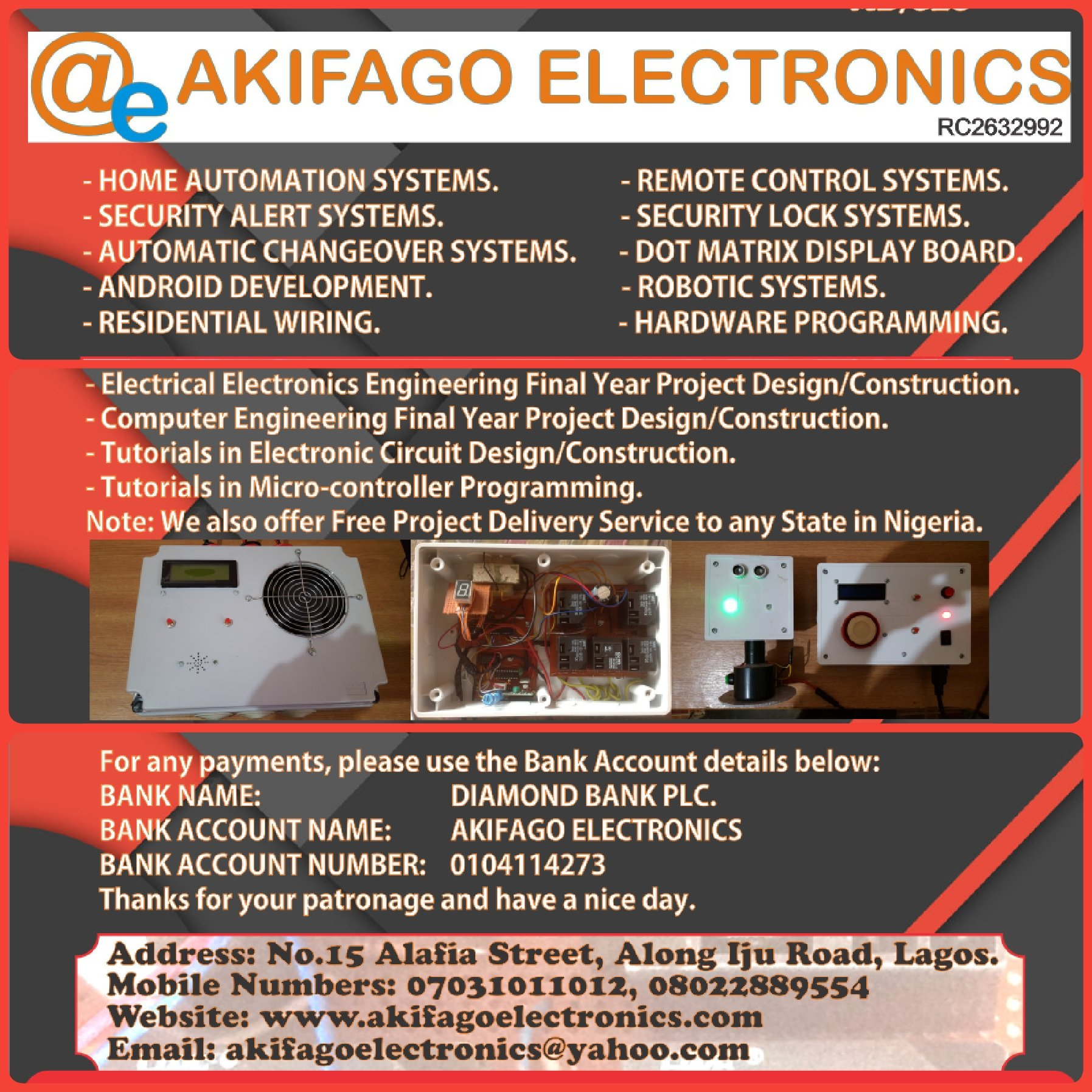 Welcome To Akifago Electronics Akifagos Site Gsm Cell Phone Jammer Circuit Schematic