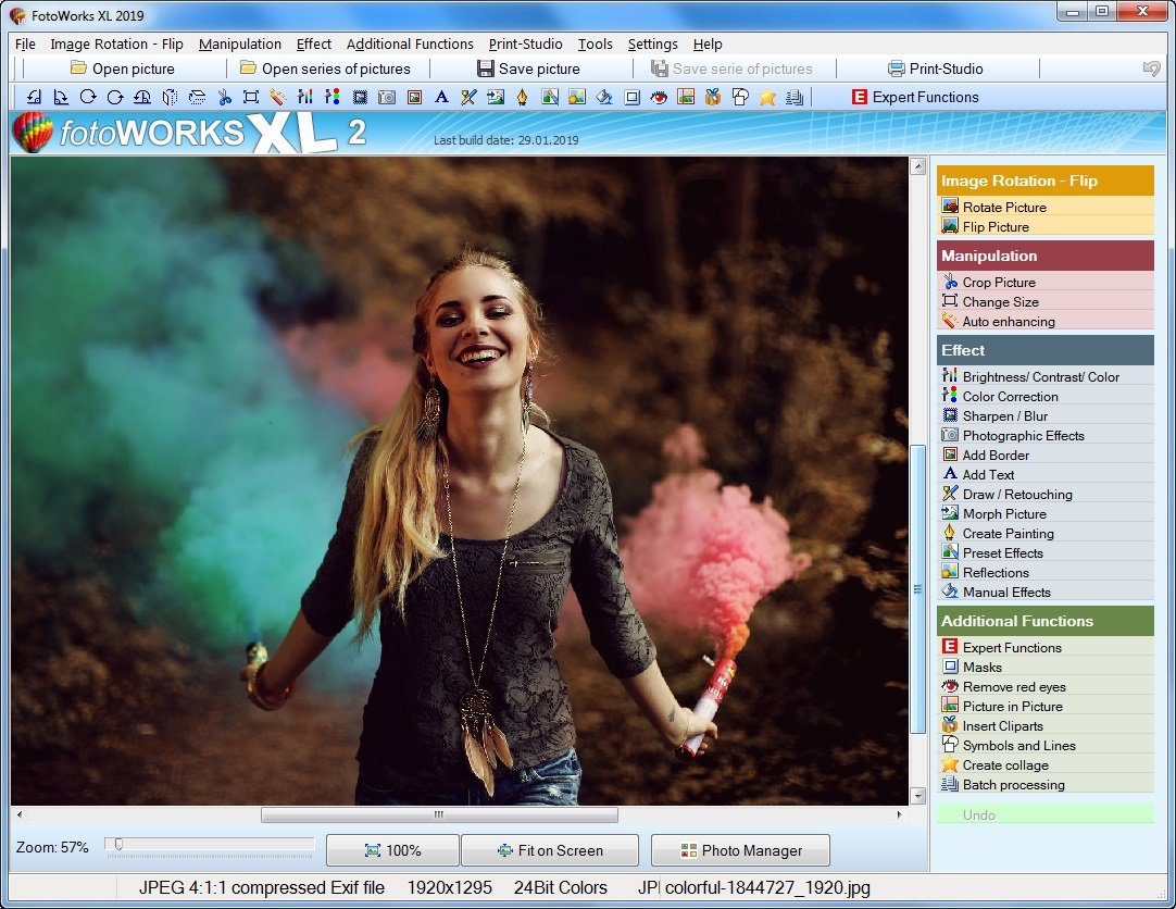 Very Good Photo Editing Software the Website - Hendy